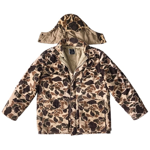 10X Other - 10X Duck Hunter Camo Hooded Winter Jacket Coat